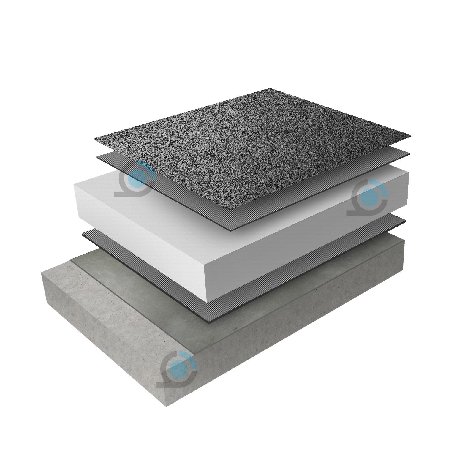 Бетонен покрив -Система хидро и топлоизолация ARCO Thermo Hidro