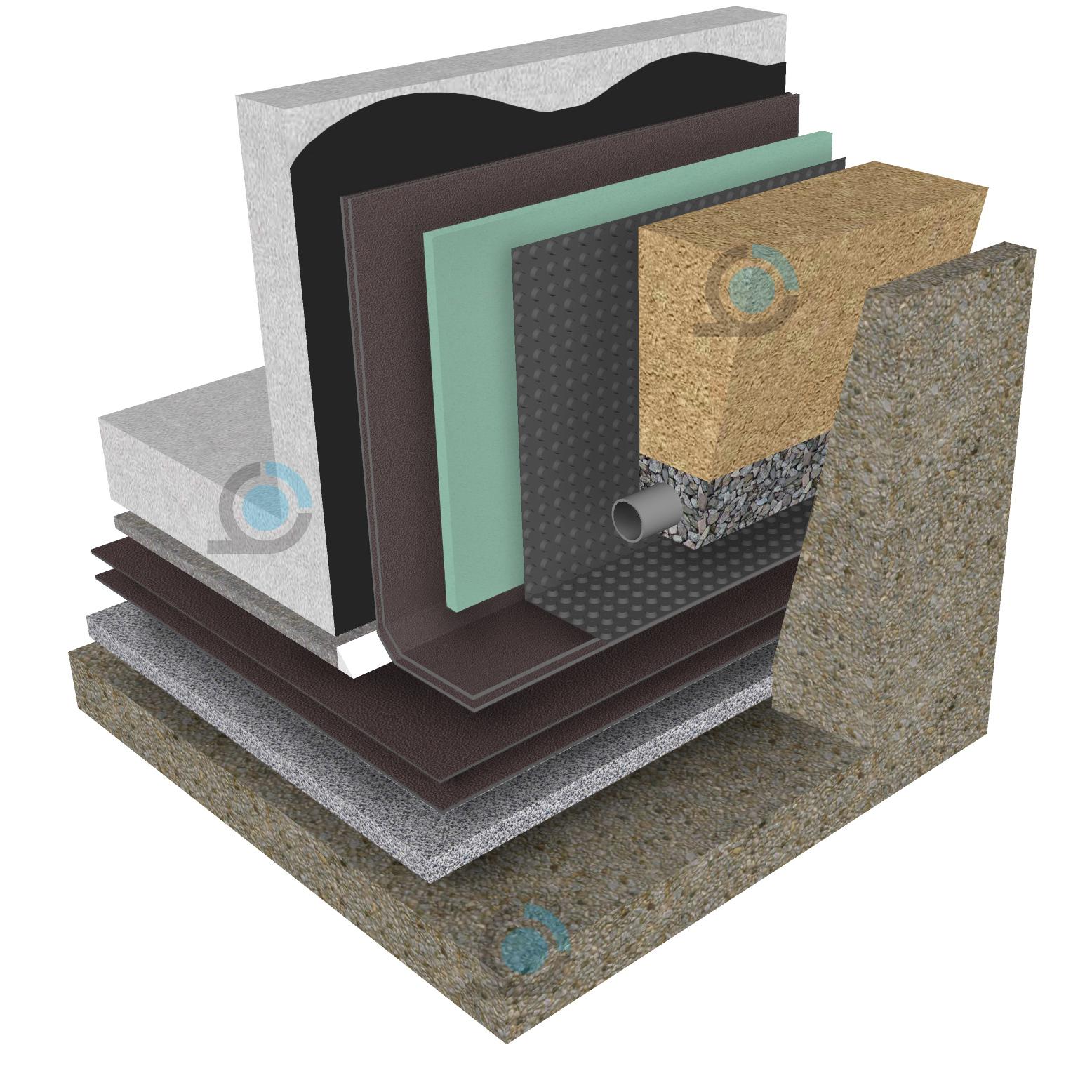 Фундаментна плоча- Битумна хидроизолация  ARCO