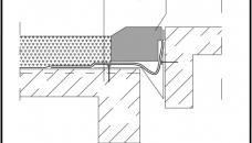 Детайл хидроизолация фуга паркинг – асфалт